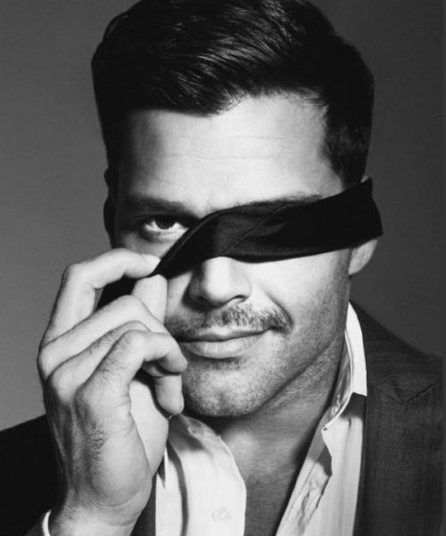 Ricky Martin for The Advocate.