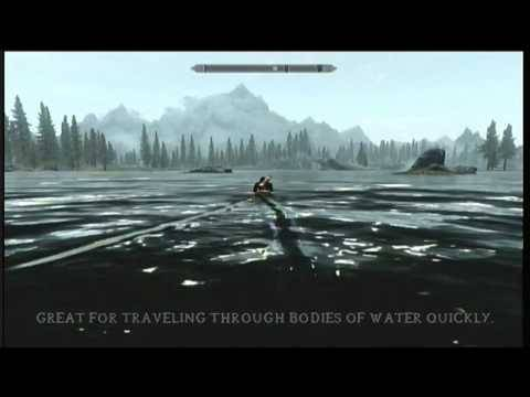 fast water travel: You can dismount a horse in the water and then mount it again to have regular speed.