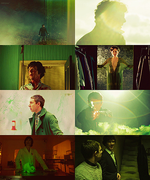 colour meme: sherlock + greenrequested by hushedwinds