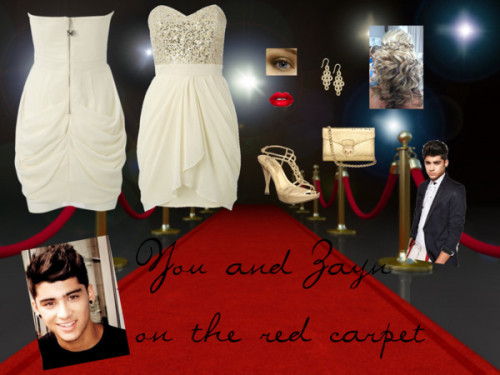 You and Zayn on the red carpet by imthetruedirectioner featuring a lip stickLipsy red carpet dress, $175 / Lipsy red carpet dress, $175 / Coloriffics high heel shoes / Aspinal of London python clutch, $550 / Silver earrings / Lip stick / Sparkle eye shadow