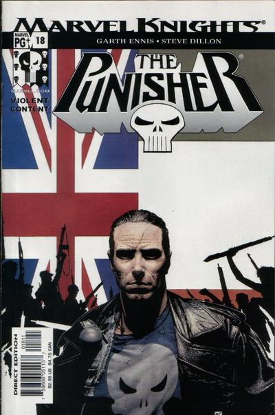 The Punisher Vol.5 #18, December 2002. Cover by Tim Bradstreet