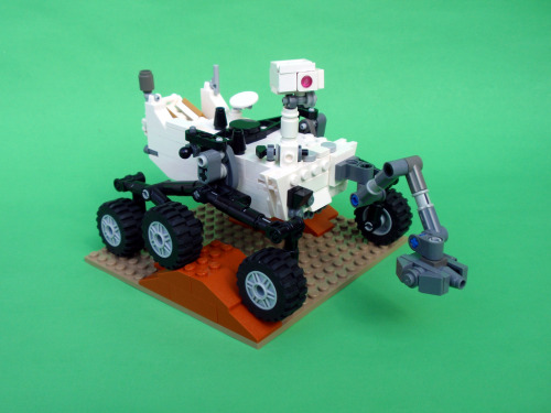 Updated Curiosity Rover 02 (by Apojove)