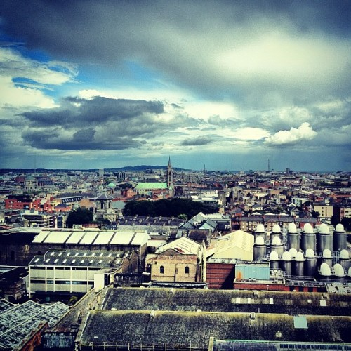 View of Dublin (Taken with Instagram)