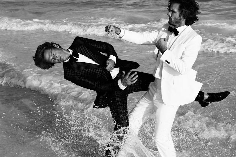 James Penfold & Nico Malleville by Paola Kudacki for Hercules