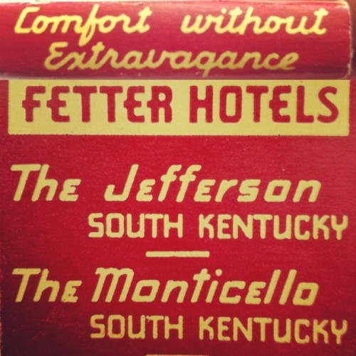 Comfort without extravagance. #matchbook #lettering  (Taken with Instagram)