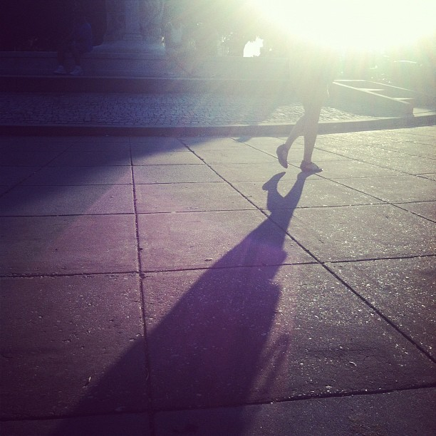 #dupontcircle #sunset #shadow #picoftheday #iphoneonly #light (Taken with Instagram)