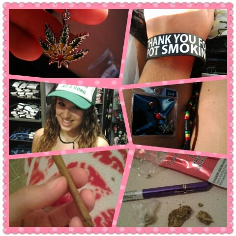 roll blunts & get stoned <3