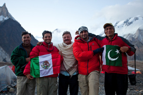 mehreenkasana:  Pakistan invited Mexican trekkers to K2. Love.
