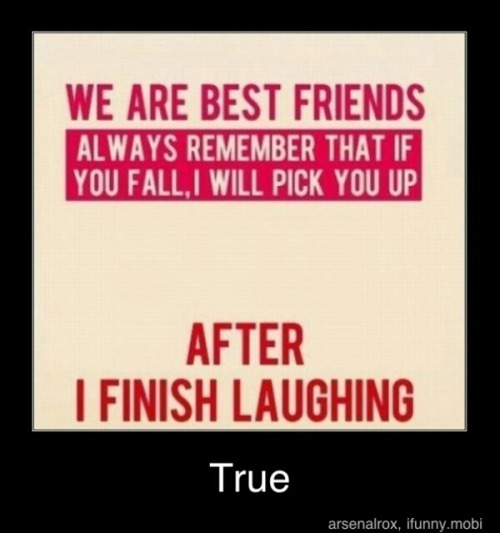 Ahh … True Friends..