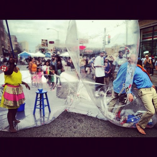 Free #Bubbleboy! (Taken with Instagram at Wicker Park Fest 2012)