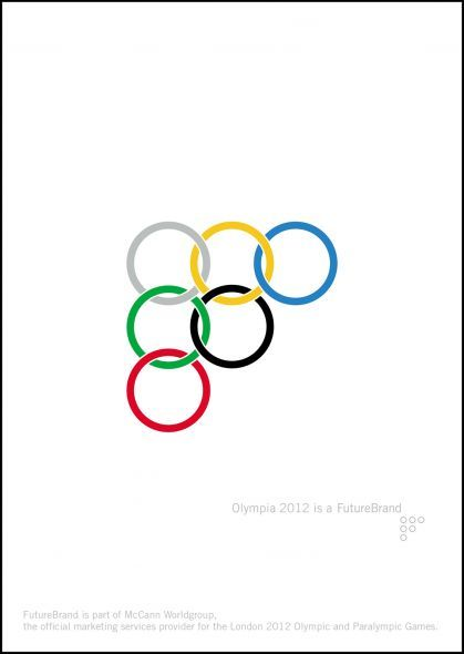 London 2012 Olympics: Olympia 2012 is a FutureBrand | Ads of the World™