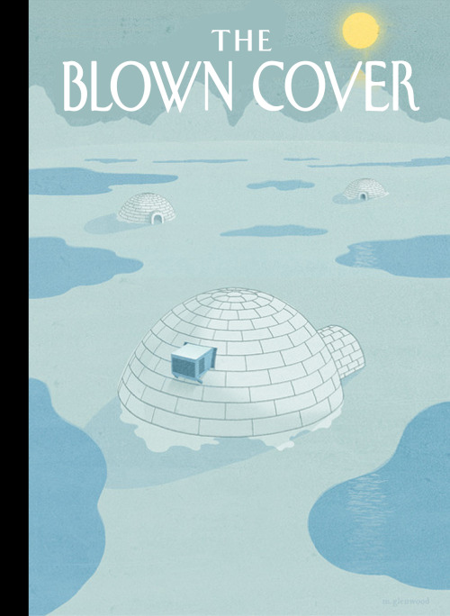 Global Warming Cover Contest: The Winner By Michael Glenwood We got so many good images that it was very difficult to choose a winner. Any of the runners-up should think of themselves as winners. We put this image on top because of the strong concept.