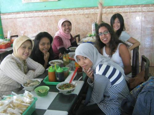 Ladies lunch (or more brunch) on my last day in Yogya