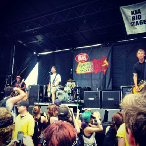 #Manoverboard #WarpedTour (Taken with Instagram)