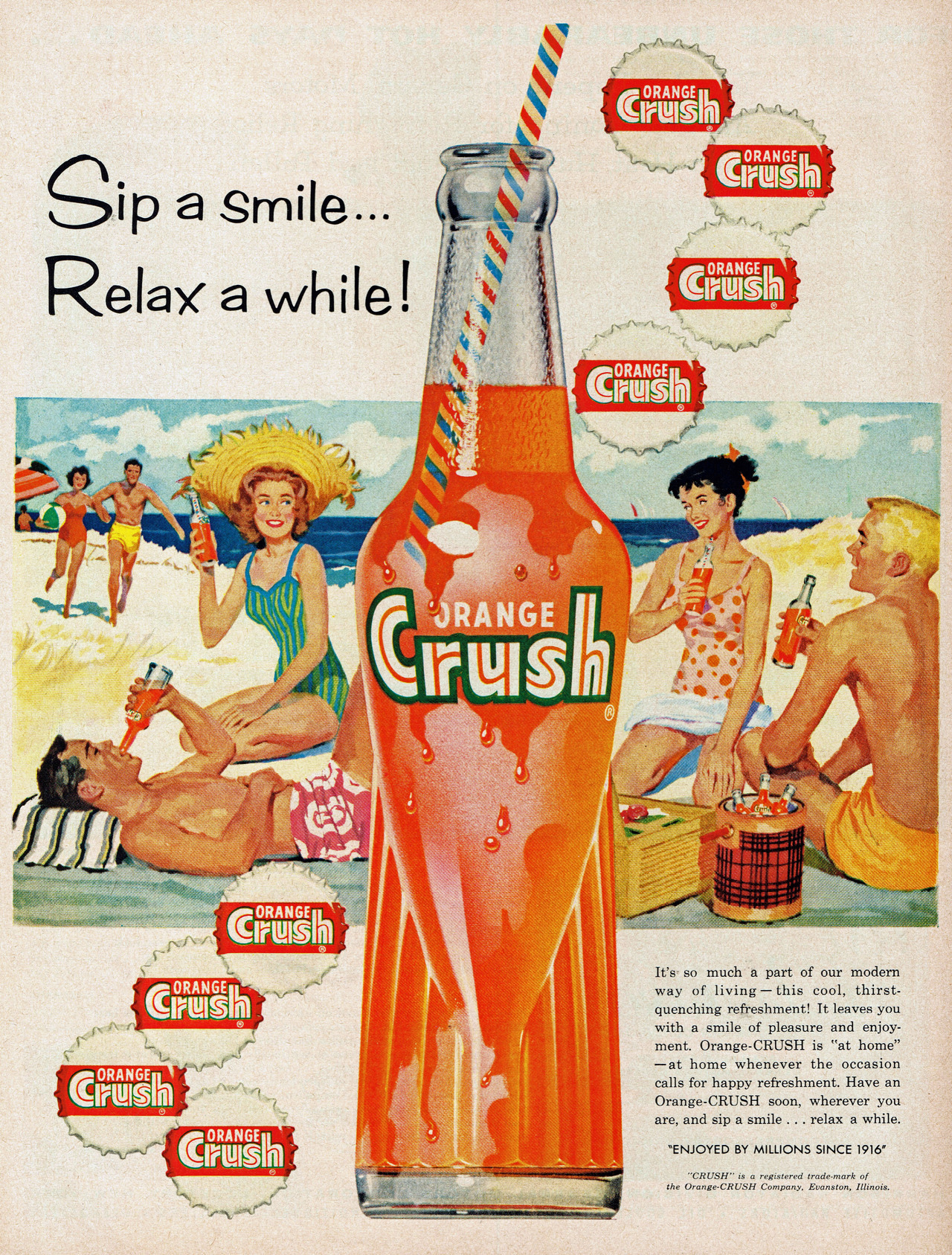 Orange Crush, 1959