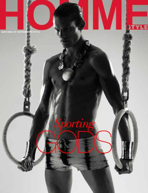 MY NEW COVER FOR HOMME STYLE MAGAZINE OLYMPIAN ISSUE FEATURING MODEL DANNY BEAUCHAMP AT SELECT MODEL MANAGEMENT.ART DIRECTION BY AKMAL SHAUKAT,FASHION EDITOR BY DEAN HAU,HAIR BY ELLIOT BSSILA AND MAKE UP BY LIZ MARTINS BOTH AT D W MANAGEMENT.SHOT AT SNAP STUDIOS LONDON.