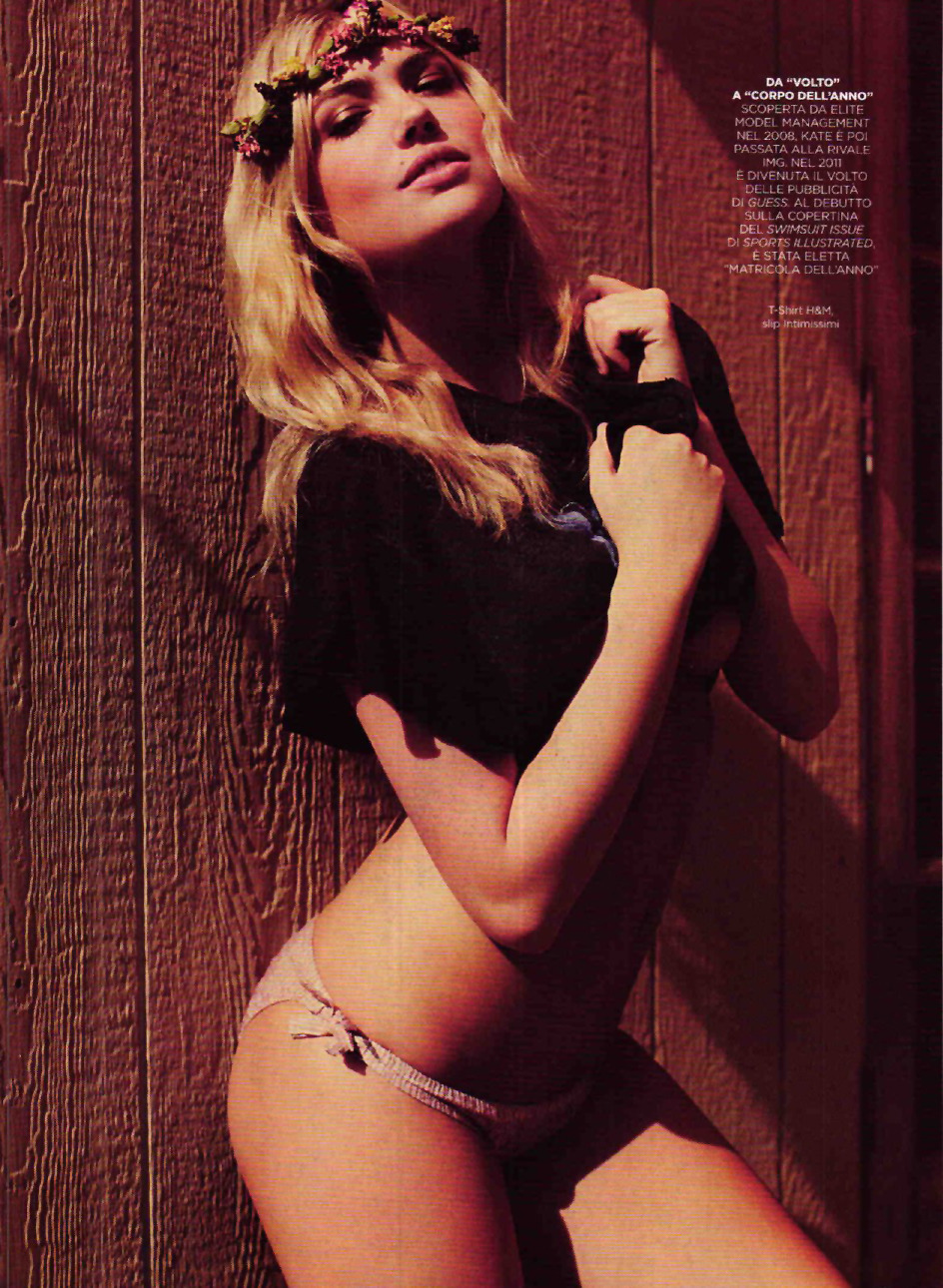 pussylequeer:  Kate Upton - GQ Italia by Guy Aroch, August 2012