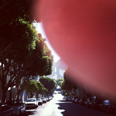 Lombard Street (Taken with Instagram)
