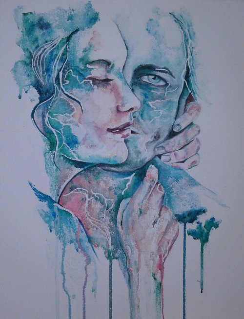 eatsleepdraw:  Inspired by Agnes Cecile.She's pretty great. It'd be cool if you followed me. You know, only if you want.