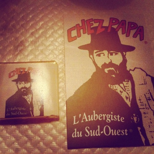 #chezpapa #restaurant #south #france #cuisine #musttry #yum  (Taken with Instagram at Chez Papa)