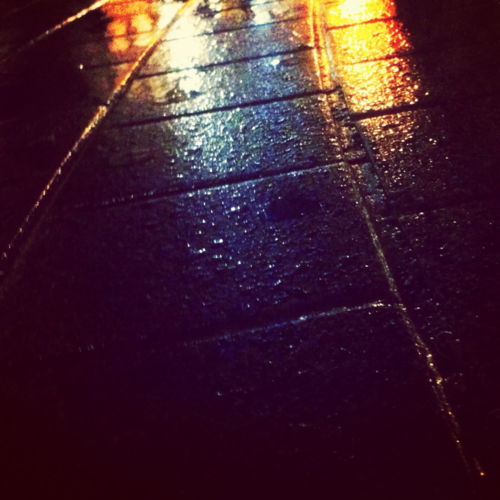 invado:  Street after a drizzle