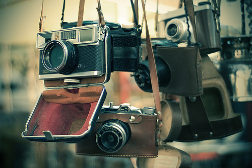 Oh so beautiful cameras! I want! #camera #photography #equipment