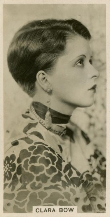 Clara Bow with a fabulous haircut