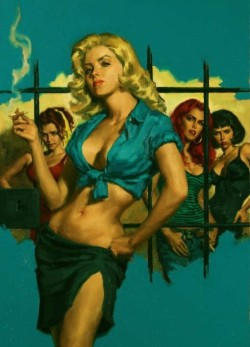 celluloidshadows:  Pulp Art