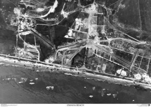 Aerial Photography of Omaha Beach during WWII - RIP brave American Soldiers - #WWII #military #DDay #history