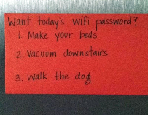 tastefullyoffensive:  Well played, mom.[via]