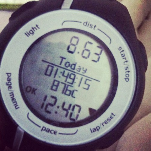 This is what my morning consisted of. #run (Taken with Instagram)