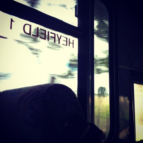 Excursion on the ol' school bus. #bus #school #excusion (Taken with Instagram)