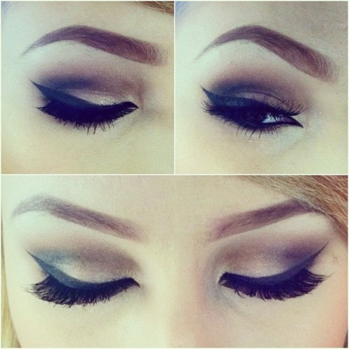 ashleyswagner:  Makeup of the day for my first day on the floor at #inglot 😁😁😁 #motd #makeup #eyes #lashes #eyeliner #inglotcosmetics #mua #makeupartist #eyebrows #browneyes #ashleyswagner #instalove #love #tumblr (Taken with Instagram)