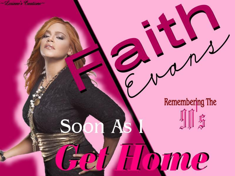 "[REMEMBERING THE 90'S] —In The Spotlight:  Faith Evans —Faith Evans started her musical career in the early 90's as a back-up singer for ""Al B Sure"" & ""Christopher Williams"".  In 1993 she became ""the first female artist"" to signed with ""Bad Boy Entertainment"".  Between 1995 - 2010 Faith has released five studio albums (Faith, Keep The Faith, Faithfully, The First Lady & Something About Faith); one holiday album (A Faithful Christmas); and has been featured on numerous songs, albums & soundtracks. Faith's other accomplishments include songwriting, record producing, book publishing (Keep the Faith: A Memoir) & acting (Turn It Up, The Fighting Temptations, and Notorious).  During her musical career she has won the following awards:  African American Literary, Grammy, MTV Video, Lady Of Soul & Soul Train Award.To find out more about ""Faith Evans"" musical endeavors & discography [Click Here]."