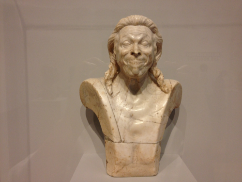 Very cool—fascinating faces! gotrmusic:  We also saw the most amazing Sculpture called the Messerschmidt heads. Goggle them, you won't be sorry!
