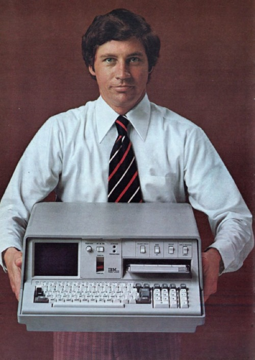 "First ""Portable"" Computer Weighed 55 Pounds"