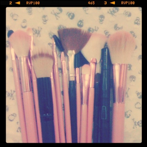 Meus amores  #Makeup (Taken with Instagram at #HomeSweetHome)