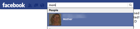 Facebook - When you have your relatives marked on Facebook, you can search for them by their relation to you. /via Ian Arthur Spaeth