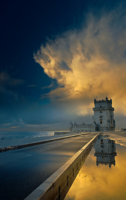 Belem Tower, Lisbon, Portugal photo via alice