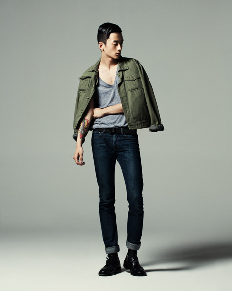 koreanmodel:  Park Sung Jin by Ahn Ji Seop for Vogue Girl Korea Oct 2011