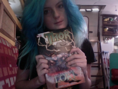 I NOW HAVE THOR: THE TRIALS OF LOKI YES GOOD I ENJOYED THIS SO MUCH