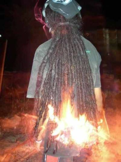 Fire dreads 4real