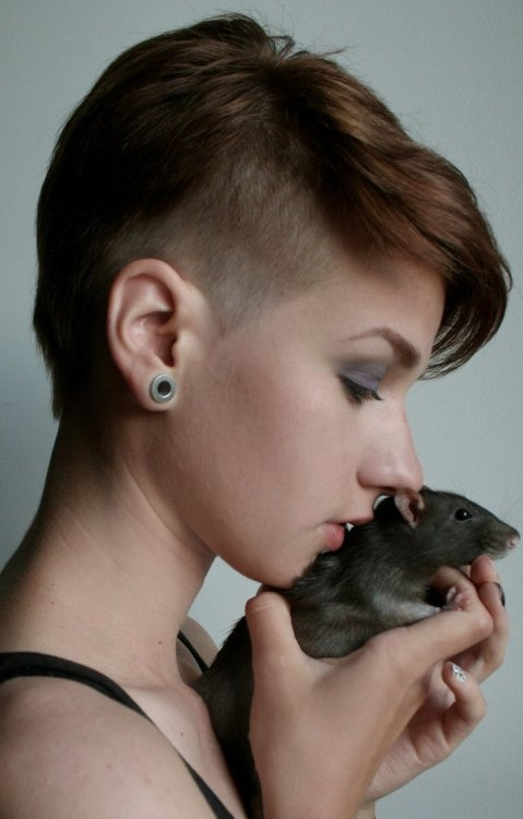 fuckyeah-hair:  (via My rat and me by ~griberli on deviantART)