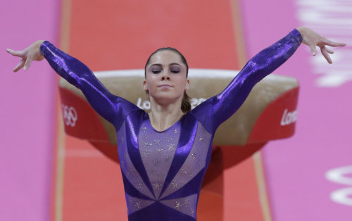 The Regina George of gymnastics.