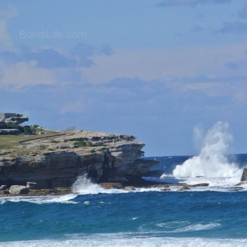 Waves crashing at Bondi #seeaustralia #seesydney #bondibeach #Bondi #nsw #australia #beach #nofilter #waves #nature (Taken with Instagram at Ben Buckler Point) Visit Bondi Life on Facebook | The Bondi Life Blog | Twitter | Google+ | Instagram | Pinterest