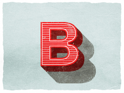 visualgraphic:  B is for Brent #8 on Dribbble