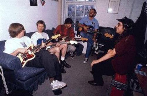 Thurston Moore, Nels Cline, Lee Ranaldo, Mike Watt and J Mascis