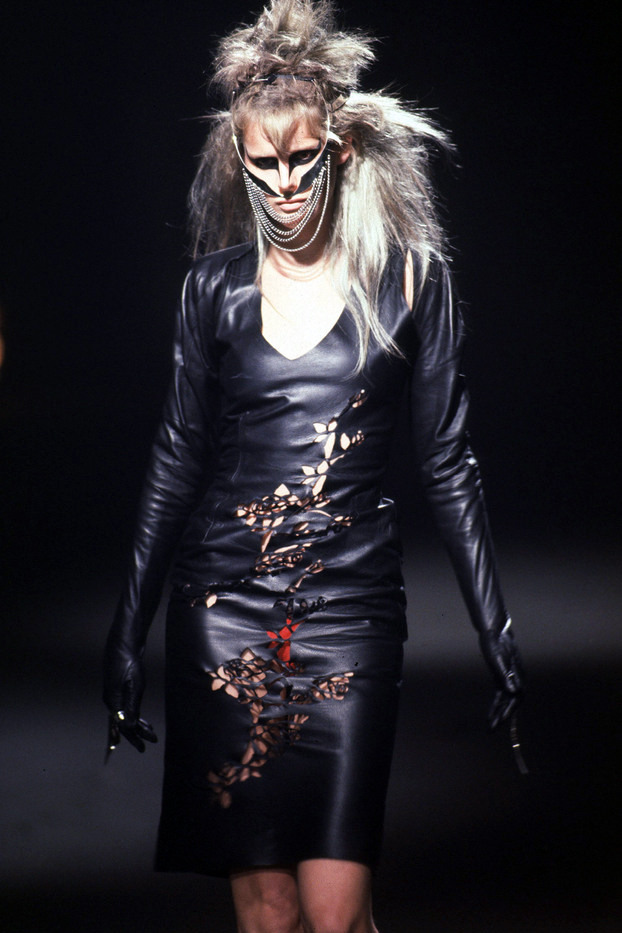 Stella Tennant @ It's a Jungle Out There, Alexander McQueen F/W 1997