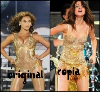 selena copying the queen
