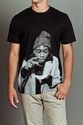 Dave Chappelle Tyrone Biggums Crack Tee by Paper Root - On Sale Now at JackThreads